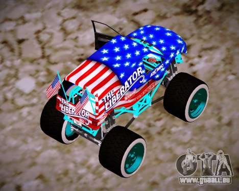 Liberator Online Version (American Flag) für GTA San Andreas linke Ansicht
