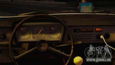 Dacia 1310 TX pour GTA San Andreas sur la vue arrière gauche