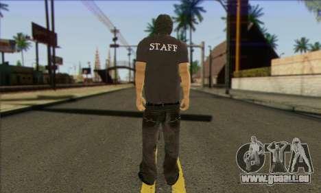 Passant (PERSONNEL) pour GTA San Andreas deuxième écran