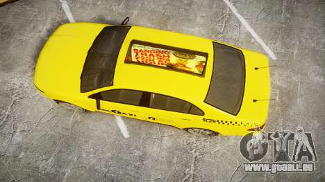 GTA V Vapid Taurus Taxi LCC für GTA 4 rechte Ansicht