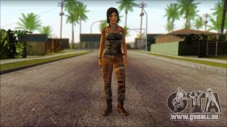 Tomb Raider Skin 8 2013 für GTA San Andreas