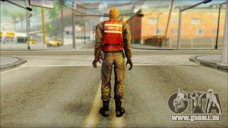 La garde côtière (à Froid de la Peur) pour GTA San Andreas deuxième écran