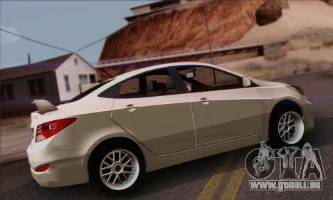 Hyundai Club für GTA San Andreas linke Ansicht