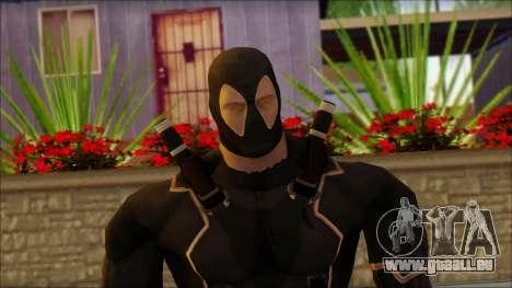 Xmen Alt Deadpool The Game Cable für GTA San Andreas dritten Screenshot