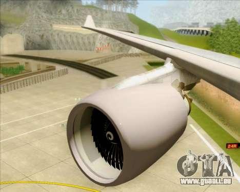 Airbus A330-200 Air China pour GTA San Andreas roue