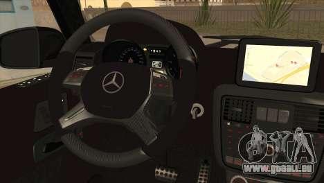 Brabus B65 v1.0 pour GTA San Andreas sur la vue arrière gauche
