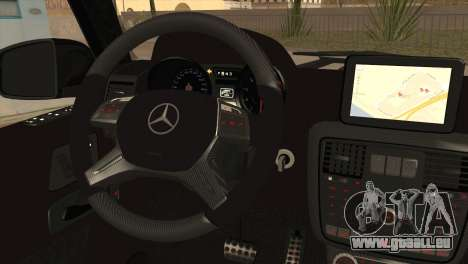 Brabus B65 v1.0 für GTA San Andreas zurück linke Ansicht
