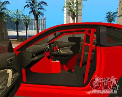 Slivia Red Planet pour GTA San Andreas vue de droite