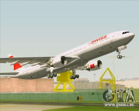 Airbus A330-300 Swiss International Air Lines für GTA San Andreas Unteransicht