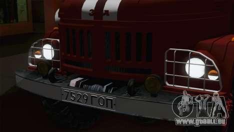 ZIL 131 - AC für GTA San Andreas Rückansicht