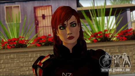 Mass Effect Anna Skin v2 für GTA San Andreas dritten Screenshot