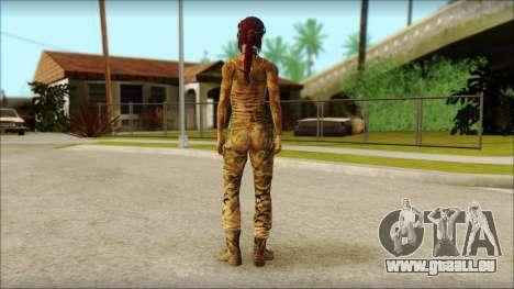 Tomb Raider Skin 10 2013 pour GTA San Andreas deuxième écran