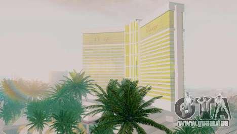 Neue Texturen casino Visage in Las Venturas für GTA San Andreas
