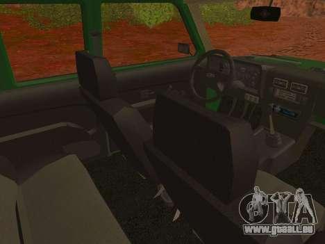 VAZ-2129 Niva 4x4 pour GTA San Andreas vue de droite