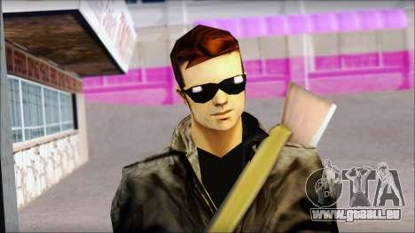 Shades and Gun Claude v1 für GTA San Andreas dritten Screenshot