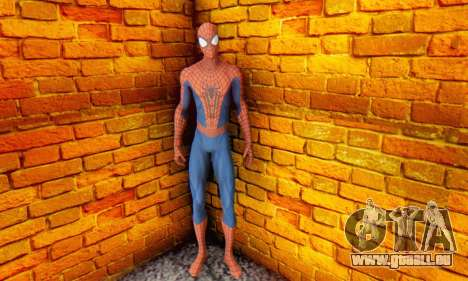 The Amazing Spider Man 2 Oficial Skin für GTA San Andreas her Screenshot