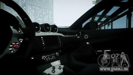 Ferrari FF für GTA 4 Rückansicht