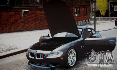 BMW Z4M für GTA 4 hinten links Ansicht