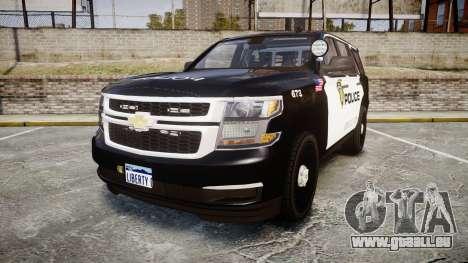 Chevrolet Tahoe 2015 LCPD [ELS] pour GTA 4