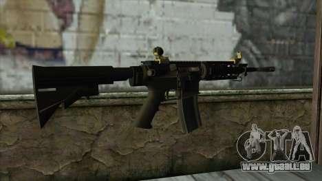 CAR-4 from Pay Day 2 für GTA San Andreas zweiten Screenshot