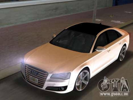 Audi A8 2010 W12 Rim3 für GTA Vice City