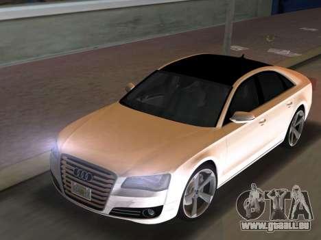 Audi A8 2010 W12 Rim3 für GTA Vice City