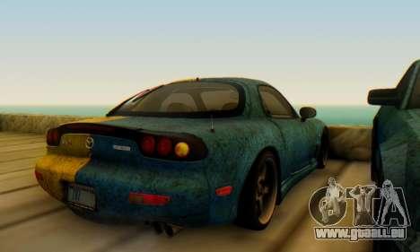 Mazda RX-7 UA PJ für GTA San Andreas rechten Ansicht