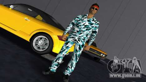Camo Skin 10 für GTA Vice City