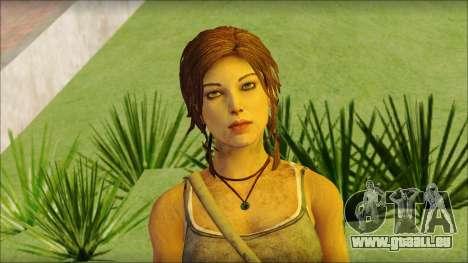 Tomb Raider Skin 12 2013 pour GTA San Andreas troisième écran