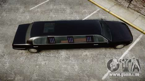 GTA V Albany Washington Limousine für GTA 4 rechte Ansicht