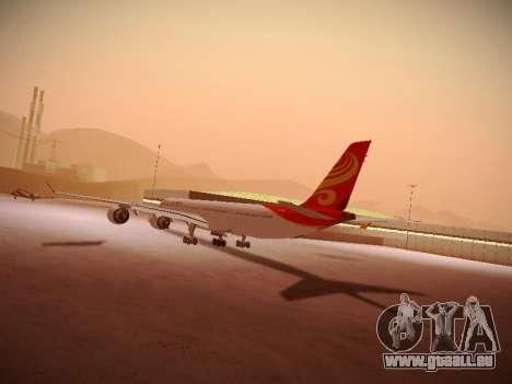 Airbus A340-600 Hainan Airlines für GTA San Andreas Innenansicht