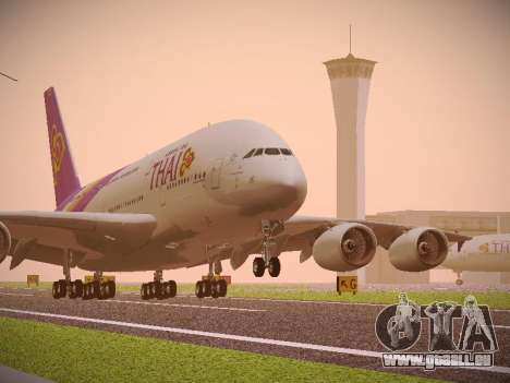 Airbus A380-800 Thai Airways International pour GTA San Andreas