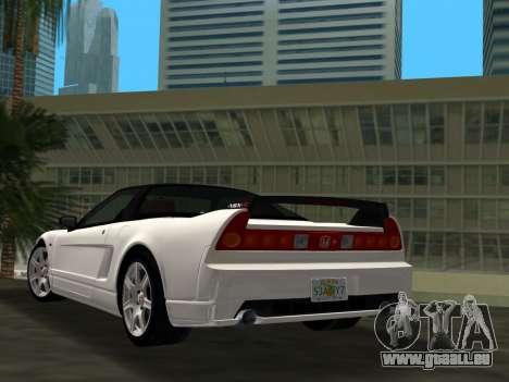 Honda NSX-R für GTA Vice City linke Ansicht