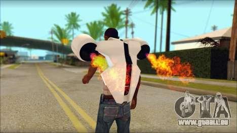 Modern Jetpack für GTA San Andreas zweiten Screenshot