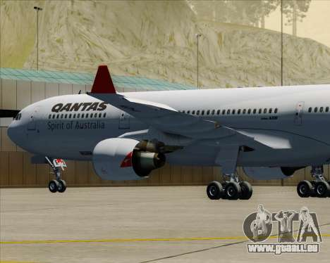 Airbus A330-300 Qantas für GTA San Andreas Räder