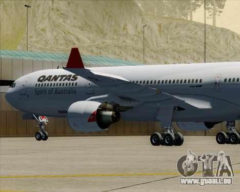 Airbus A330-300 Qantas pour GTA San Andreas roue
