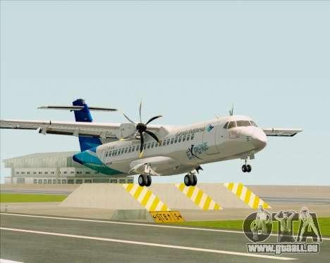 ATR 72-500 Garuda Indonesia Explore pour GTA San Andreas laissé vue