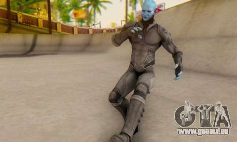 Skin Electro From The Amazing Spider Man 2 für GTA San Andreas