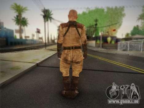 Paul (Metro Last Light) pour GTA San Andreas deuxième écran