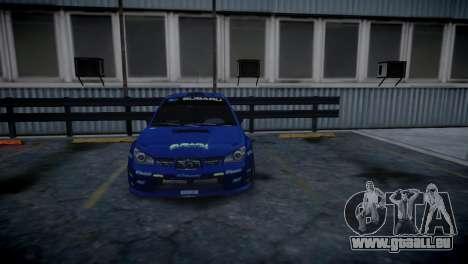 Subaru Impreza STI Group N Rally Edition für GTA 4