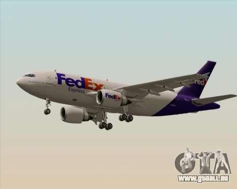 Airbus A310-300 Federal Express für GTA San Andreas Räder