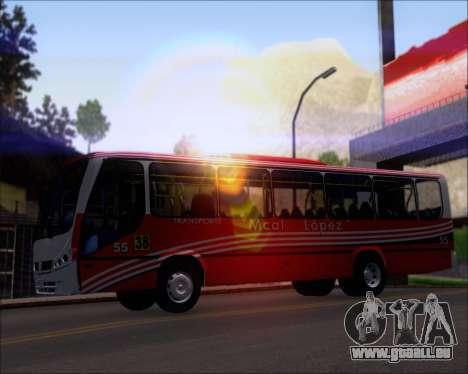 Neobus Spectrum Linea 38 Mcal. Lopez pour GTA San Andreas moteur