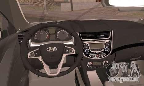 Hyundai Club für GTA San Andreas zurück linke Ansicht