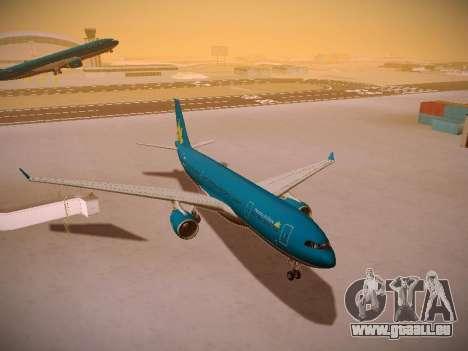 Airbus A330-200 Vietnam Airlines pour GTA San Andreas vue de côté