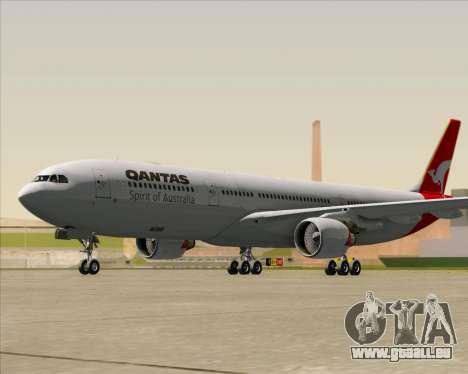 Airbus A330-300 Qantas für GTA San Andreas linke Ansicht