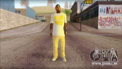 New Grove Street Family Skin v4 für GTA San Andreas