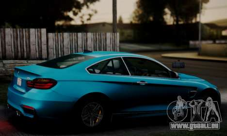 BMW M4 2014 für GTA San Andreas linke Ansicht