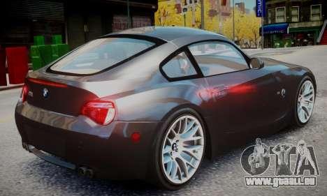 BMW Z4M für GTA 4 linke Ansicht