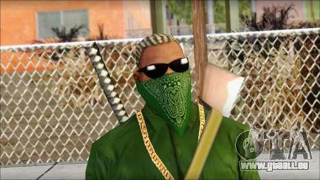 New CJ v5 pour GTA San Andreas troisième écran