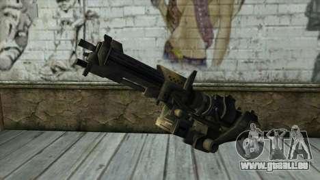 M247 Machine Gun Jorge Of Halo Reach pour GTA San Andreas